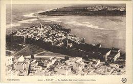 CPA AK MAROC RABAT Le Casbah Des Oudayas (vue En Avion) Flandrin (38222) - Rabat