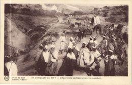 CPA AK MAROC Campagne Du RIFF Depart Des Partisans Pour Combat Flandrin (38417) - Morocco