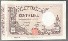 100 LIRE Barbetti Matrice Fascio 07 10 1929 Leggermente Pressato Foro Centrale E Taglietto Ricongiunto Q.bb  LOTTO 3244 - [ 1] …-1946: Königreich