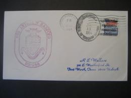 Vereinigte Staaten- Beleg Mit Cachetstempel USS Arthur W Radford DD-968 - Colecciones & Lotes