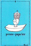 SINE  - Ed By SINE IA PARIS - Humour  PAPE Presse Papier -   CSPM  10,5x15   TBE  Neuve - Sine