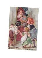 11549 - CPA Fantaisie, Fête , NOEL , Père Noel Enfants, Jouets,Oilette, - Noël