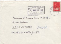 FRANCE : 1972 - Championnats  Du Monde Cyclistes - MARSEILLE - Radsport
