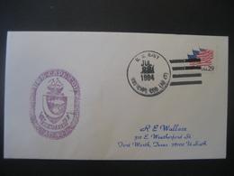 Vereinigte Staaten- Beleg Mit Cachetstempel USS Cape Cod AD 43 - Colecciones & Lotes