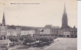 Marciac - La Place Et Les Deux Clochers - Mirande