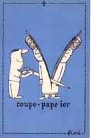 SINE   Ed By Sine IA PARIS -  PAPE  Coupe Papier - CPSM  10.5x15  TBE Neuve - Sine