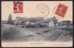 MESNIL SAINT PERE ( 10 - Aube ) Un Coin Du Village ( Rue Animée , Personnes ) - TTB Etat - Autres Communes