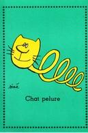 SINE  - Ed  PULCINELLA  - Humour  CHAT  Chat Pelure  -   CSPM  10,5x15  TBE Neuve - Sine