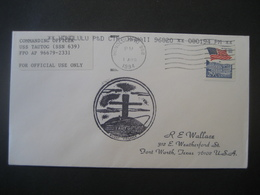 Vereinigte Staaten- Beleg Mit Cachetstempel USS Tautog SSN 639 - Colecciones & Lotes
