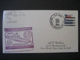 Vereinigte Staaten- Beleg Mit Cachetstempel USS South Carolina CGN 37 - Colecciones & Lotes