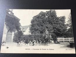 Chasse à Courre / Château De NEXON - Otros Municipios