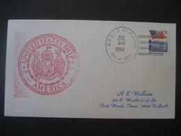 Vereinigte Staaten- Beleg Mit Cachetstempel United States Ship Amerika - Colecciones & Lotes