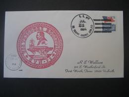 Vereinigte Staaten- Beleg Mit Cachetstempel USS Theodore Roosevelt CVN - 71 - Colecciones & Lotes