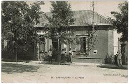 CPA Algérie. Castiglione. La Poste, Animée, 1905 - Otras Ciudades