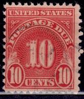United States, 1931, Postage Due, 10c, Sc#J84, Used - Postage Due