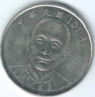 Taiwan - 2012 (Year 101) - 10 Dollars - KMY574 - Taiwan