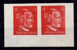 Allemagne/Reich Timbre De Propagande Futsches Reich En Paire Non Dentelés Neufs ** MNH. B/TB. A Saisir! - Occupation 1938-45