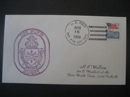 Vereinigte Staaten- Beleg Mit Cachetstempel USS Fife DD-991 - Colecciones & Lotes
