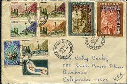 """ANDORRA  FRANCESA  Carta """" Años 70 """" -731 - Andorra Francesa"""