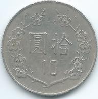 Taiwan - 1982 (Year 71) - 10 Dollars - KMY553 - Taiwan