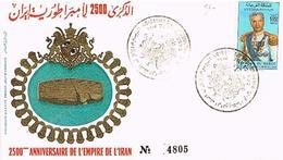 MAROC  ENVELOPPE + TIMBRES + OBLITIRATIONS  TBE  EN 38 - Marokko (1956-...)
