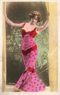 Actrice, Chanteuse Belle Epoque: Grete Lorma - Carte Dos Simple N° 1009/2 Colorisée, Non Circulée - Artisti