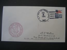 Vereinigte Staaten- Beleg Mit Cachetstempel USS Denver LPD-9 - Colecciones & Lotes