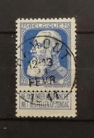 COB 76 Avec Belle Oblitération Concours Hamont - 1905 Thick Beard