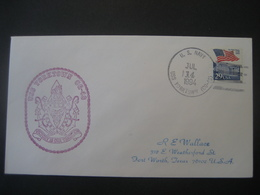 Vereinigte Staaten- Beleg Mit Cachetstempel USS Yorktown CG-48 - Colecciones & Lotes