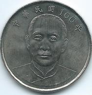 Taiwan - 2011 (Year 100) - 10 Dollars - KMY574 - Taiwan