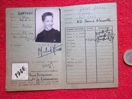 Scout Carte D'éclaireur 1946 - Scouting