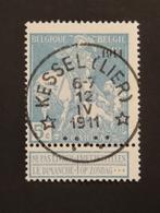 COB 97 Oblitération Concours Relais Kessel - Lo ( Lier ) - 1910-1911 Caritas