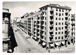 XW 1777 Milano - Via Ponte Seveso - Auto Cars Voitures Tram / Viaggiata 1954 - Milano