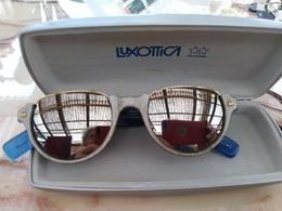 "1235  OCCHIALE DONNA "" BENETTON"" ANSER METAL BIFO   VINTAGE ANNI 80/90 RARO - Sun Glasses"
