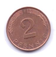 BRD 1994 F: 2 Pfennig, KM 106a - 2 Pfennig