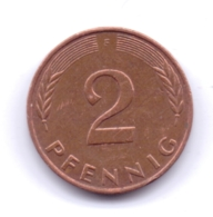 BRD 1984 F: 2 Pfennig, KM 106a - 2 Pfennig