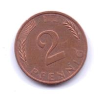 BRD 1983 J: 2 Pfennig, KM 106a - 2 Pfennig
