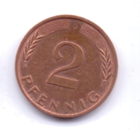BRD 1983 G: 2 Pfennig, KM 106a - 2 Pfennig