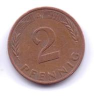 BRD 1983 D: 2 Pfennig, KM 106a - 2 Pfennig