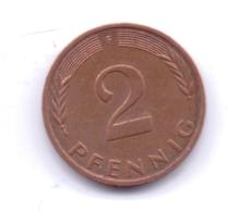 BRD 1982 F: 2 Pfennig, KM 106a - 2 Pfennig