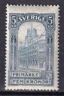 SUEDE - Hôtel Des Postes De Stockholm Neuf - 2 Scans - Neufs