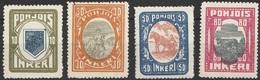 Ingrie 1920 Nord Ingermanland N° 8 à 11  (F24) - Altri