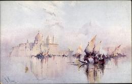 Artiste Cp Venezia Venedig Veneto, Segelregatta Zur Stadt, Tuck Nr. 2980 - Künstlerkarten