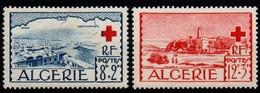 Algeria 1952, Scott B67-B68, MH, Red Cross - Algérie (1962-...)