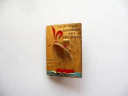 Distintivo Spilla PNF OND Crociera Dei Tre Mari 10-24 Settembre 1938 - Tokens & Medals