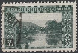 Bosnien / Bosnia 1906, Mischzähnung, 35H, 4324, Gest - Usados