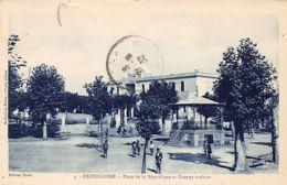 CASTIGLIONE Bou Ismail - Place De La République Et Groupe Scolaire - Otras Ciudades