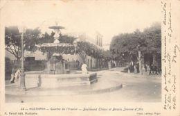 MUSTAPHA Alger - Quartier De L'Arsenal, Boulevard Thiers Et Bassin Jeanne D'Arc - Otras Ciudades