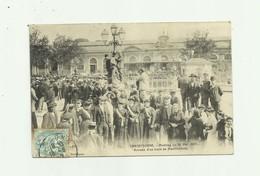 11 - CARCASSONNE - Meeting Du 26 Mai 1907 Arrivée D'un Train De Manifestants Trés Animé Bon état - Carcassonne