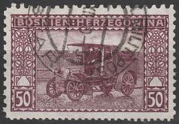 Bosnien / Bosnia 1906, Mischzähnung, 50H, 2432, Gest - Usados